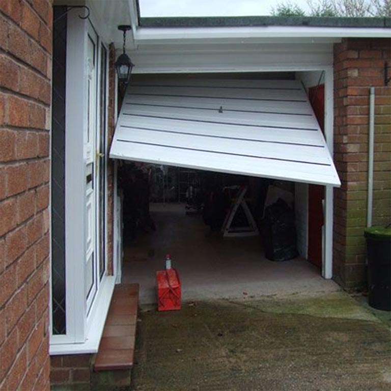 Broken garage door in Seaford